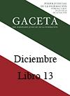 Libro 13 2014 Diciembre.  Archivo PDF para descargar, se abrirá en una nueva ventana