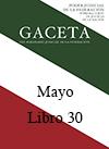 Libro 30 2016 Mayo.  Archivo PDF para descargar, se abrirá en una nueva ventana