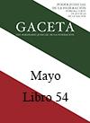 Libro 54 2018 Mayo.  Archivo PDF para descargar, se abrirá en una nueva ventana