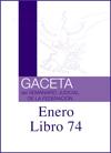 Libro 74 2020 Enero.  Archivo PDF para descargar, se abrirá en una nueva ventana