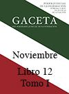 Libro 12 Tomo I 2014 Noviembre. Archivo PDF para descargar, se abrirá en una nueva ventana