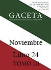 Libro 24 Tomo III 2015 Noviembre. Archivo PDF para descargar, se abrirá en una nueva ventana