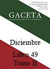 Libro 49 Tomo II 2017 Diciembre. Archivo PDF para descargar, se abrirá en una nueva ventana