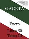 Libro 50 Tomo III 2018 Enero. Archivo PDF para descargar, se abrirá en una nueva ventana