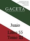 Libro 55 Tomo III 2018 Junio. Archivo PDF para descargar, se abrirá en una nueva ventana