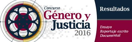 """Concurso """"Género y Justicia"""""""