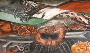 Mural: Las riquezas nacionales, José Clemente Orozco, 1941