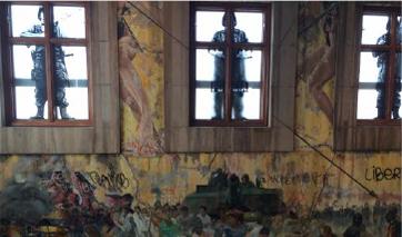 Murales de Rafael Cauduro,Historia de la Justicia en México