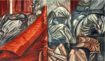 Mural de José Clemento Orozco: Las riquezas nacionales