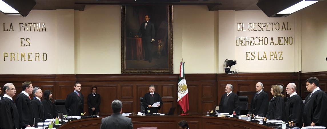 El Pleno de la Suprema Corte de Justicia de la Nación