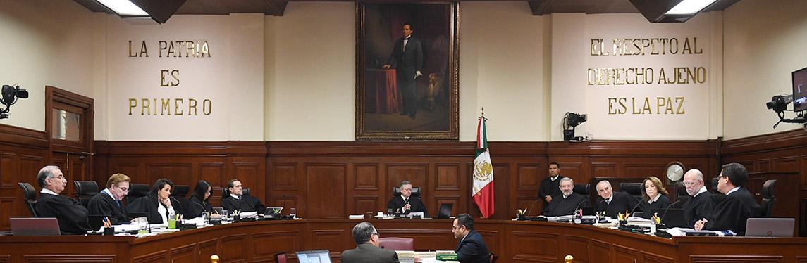 Pleno | Suprema Corte de Justicia de la Nación